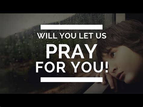 Let Us Pray For You! TheSecondAdam