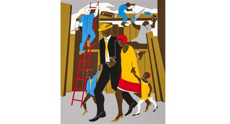 The Visual Blues of Jacob Lawrence | Gibbes Museum