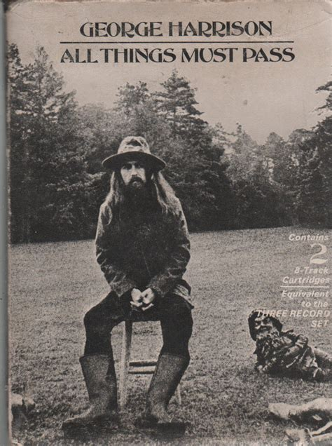 George Harrison - All Things Must Pass (1970, 8-Track