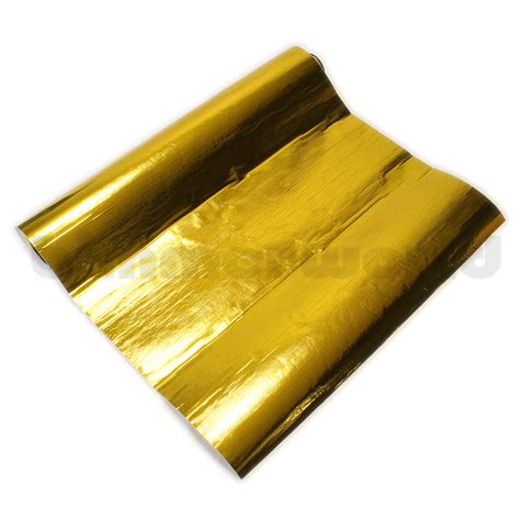 Gold Foil Protective Film - Adhesive Heat Barrier