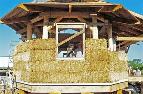 Straw Bale Houses | Residential building design, Facade