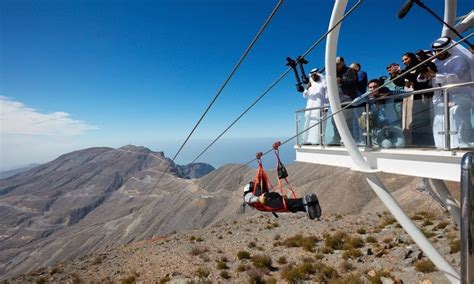 Check Out The World's Longest Zip Line – 1