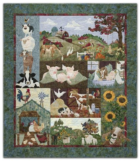 Back on the Farm Complete Pattern Set