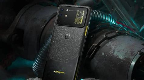 OnePlus 8T Cyberpunk 2077 Limited Edition Is Official… And