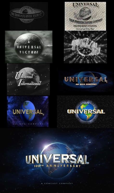 """Evolution of the """"Universal"""" Logo   Picture logo, Pet"""