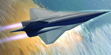 Hypersonic SR-72 Demonstrator Reportedly Spotted at Skunk