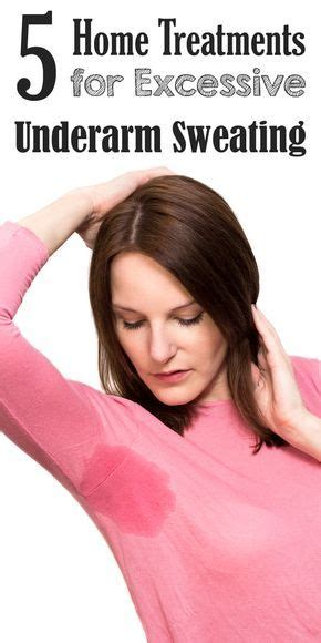 5 Home Treatments for Excessive Underarm Sweating   Poudre