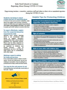 Mandated Reporter Training – Child Abuse Prevention