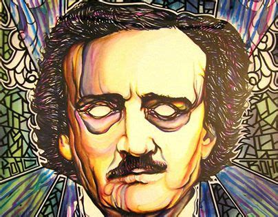 """Check out new work on my @Behance profile: """"Edgar Allen"""