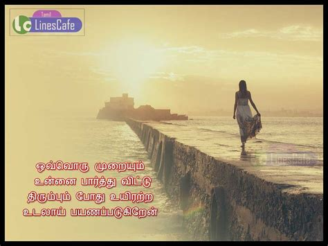 Heart Feeling Love Quotes In Tamil   Tamil