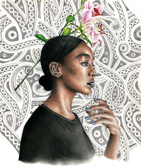 Contemporary Drawings Of Ancient Goddesses Are Literal