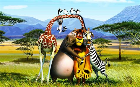 movies, 3D, Madagascar Wallpapers HD / Desktop and Mobile