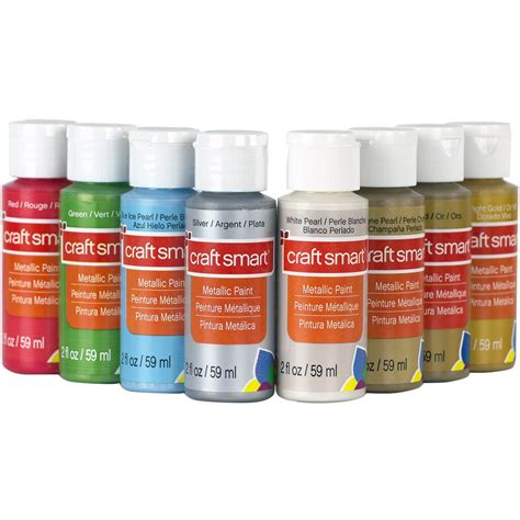 Find the Metallic Acrylic Paint Value Set By Craft Smart