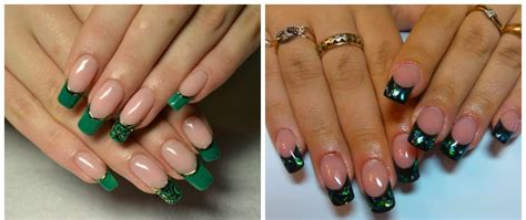 Green nails 2018: trends and ideas with green nail polish